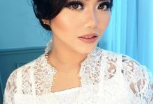 Wedding Makeup For Mrs. Inka by VM Makeupartist