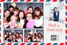 Paul & Hwee Ling Wedding Photo Booth by Cloud Booth