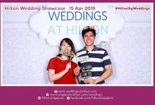 Hilton Wedding Showcase Apr 2018 by Cloud Booth