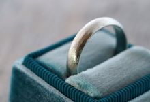 Wedding Band in Silver by Gardens of the Sun