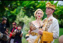 TATYANA & VLAD ( RUSSIAN BALINESE WEDDING ) by Visesa Ubud