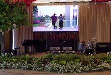 LED SCREEN - SASHA & ILHAM by Chroma Project