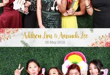 Addison & Amanda Wedding Photo Booth by Cloud Booth