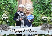 Prima & Reza Wedding by snaphot official photobooth