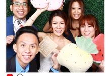 Justin & Amanda Wedding Photo Booth by Cloud Booth