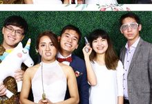 Darren & Sabrina Wedding Photo Booth by Cloud Booth