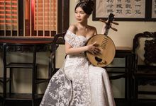 Cheongsam Wedding dress  by Alethea Sposa