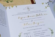 Eryn & Tony by Vinas Invitation