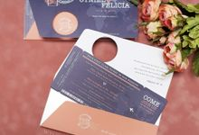 Otniel & Felicia by Vinas Invitation