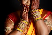 South Indian Photoshoot by Saheli Bridal House