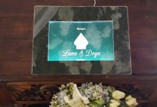 Luna & Dega - 8 July 2018 by LUVI - Digital Wedding guest book