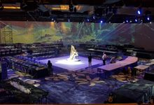 PROJECTION MAPPING - WEDDING OF NICHOLAS & NATANIA by Chroma Project