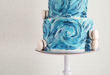 Abstract Cakes by MyLadyGrey Cakes