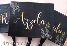 Katri & Ganif Wedding Favor by Artellery.id