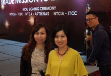 New Taipei City Trade Mission Trade Meeting and MOU Signing Ceremony by MC Mandarin Linda Lin