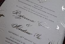 Ryonna & Andrew by Vinas Invitation