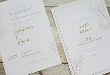 "The Celebration Of Love "" Luki & Ayala by Red Card"