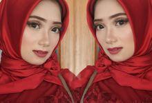 Makeup Engagement by Cindy_prof_makeup