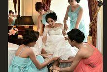 Jehezkia Wedding by Wedding shoes by Biondi