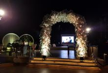 LED SCREEN - IVAN & YESSICA by Chroma Project