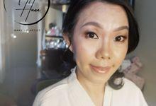 Wedding Party Makeup Mrs Witi Liao by Maretta Hana MUA