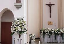 Dekorasi Kapel Santa Ursula Jakarta by nanami florist