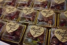 Wedding Giveaways And Souvenirs - Thank You Favors by Megabites Chocolate