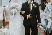 wedding of yulia&frank by Vivi Valencia