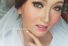 Wedding Makeup by Dinanita Makeup