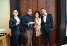 Bilingual Wedding reception of Diandra & Navid by MC Wedding Banna