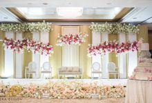Wedding of Anton & Agnes by Alleka Design