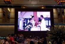 LED SCREEN - FELISITAS & EKA by Chroma Project