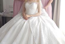 The Wedding Of Louis & Dea by Yumi Katsura Signature