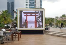 LED SCREEN - ADE & HERVIANY by Chroma Project