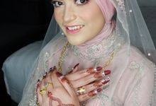 Wedding Makeup For Nadya by Titia Violita Gallery & Makeup