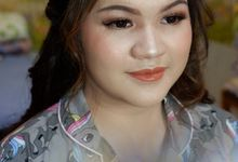 Graduation Makeup and Hairdo for Annabela by Nike Makeup & Hairdo