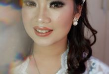 The Wedding Day Makeup & Hairdo for Ms.Fransiska by Nike Makeup & Hairdo