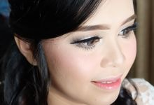 Wedding Makeup by MeidyWinarta