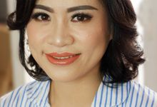 Party Makeup & Hairdo For Mrs. Kartini by Nike Makeup & Hairdo