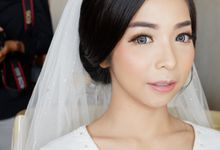 Wedding, Trial & Prewedding by CHERIS'H makeup artist