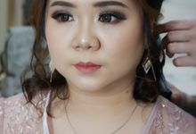 Party Makeup And Hairdo by Nike Makeup & Hairdo