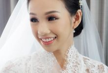 Holy Matrimony Makeup And Hairdo for Ms. Dorothea by Nike Makeup & Hairdo