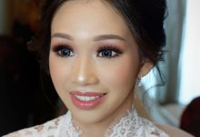 Wedding Makeup & Hairdo For Ms. Dorothea by Nike Makeup & Hairdo