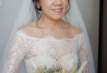 Wedding Day Mario & Debora by Nike Makeup & Hairdo