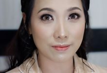 Party Makeup & Hairdo for Mrs. Christy by Nike Makeup & Hairdo