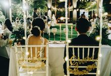 The Wedding of Ben & Maria by Miracle Wedding Bali