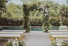 The Wedding of David & Arin by Miracle Wedding Bali