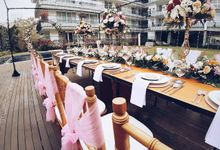 The Reception of Li Wei & Tang Juang by Miracle Wedding Bali