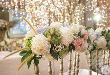 Wedding of Kynan & Thania by 4Seasons Decoration