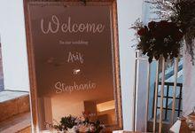 The Wedding of Arif & Stephanie by Miracle Wedding Bali